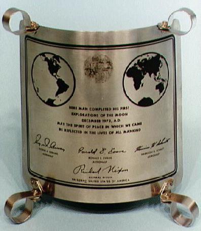 Apollo 17 - The last men to walk on the moon.