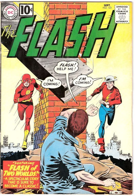 The Flash  Silver Age Comic Book Covers  Late 1950s  1960s  The Invisible Agent