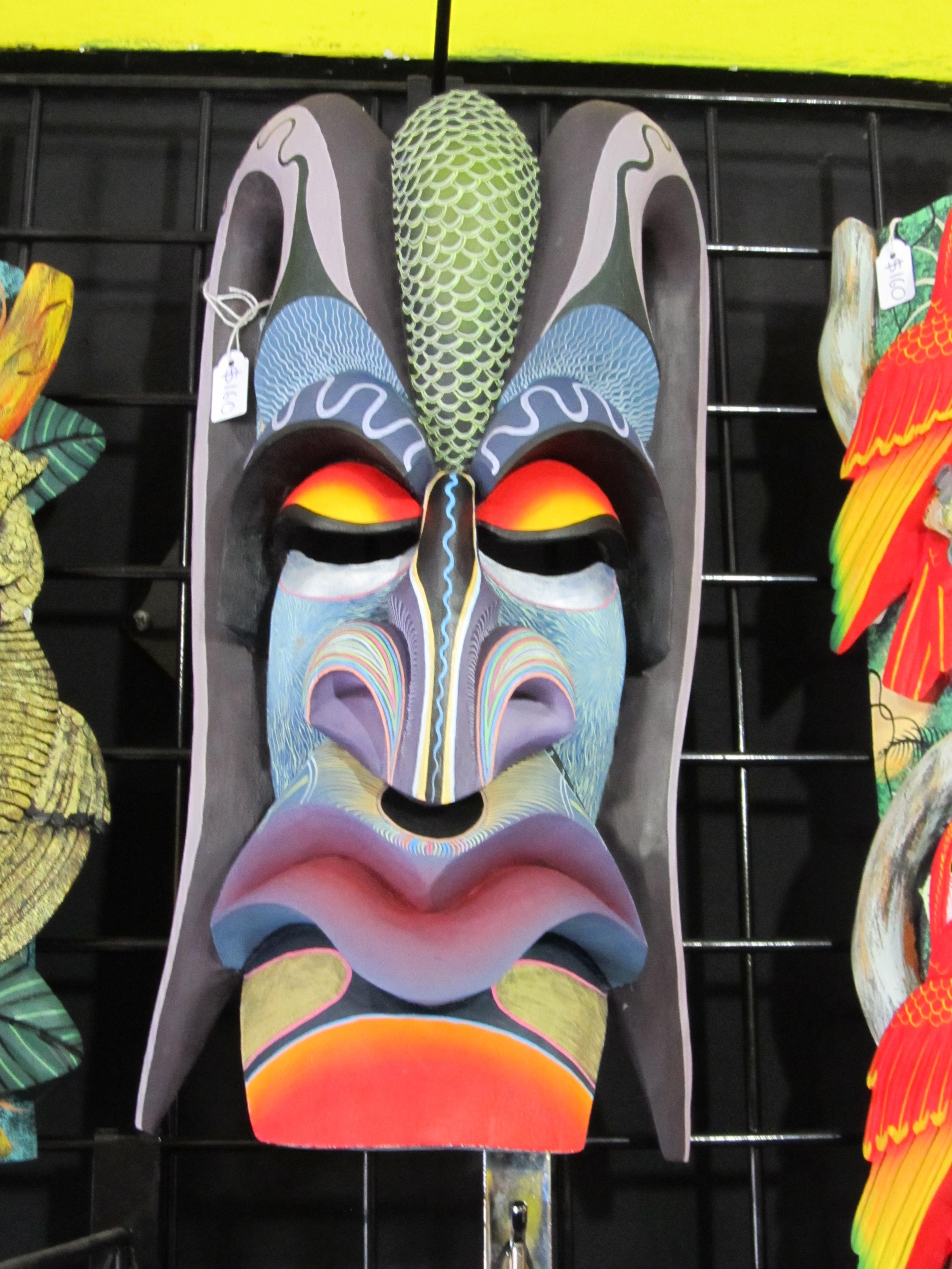 Boruca Brunka Masks  Costa Rica  The Invisible Agent