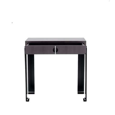 The Invisible Collection lio bedside table David haymann walnut noyer