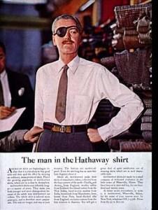 David Ogilvy - Hathaway Shirt Ad