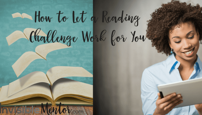 How to Let a Reading Challenge Work for You #Infographic
