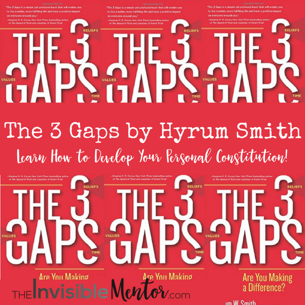 The 3 Gaps By Hyrum Smith Book Review