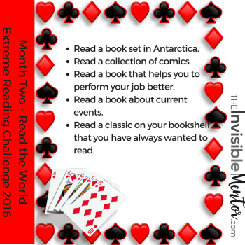 reading challenge cards, extreme reading challenge, global reading challenge