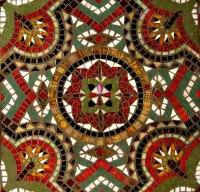 Mosaic Tile  Art Deco Style   theiofinspiration
