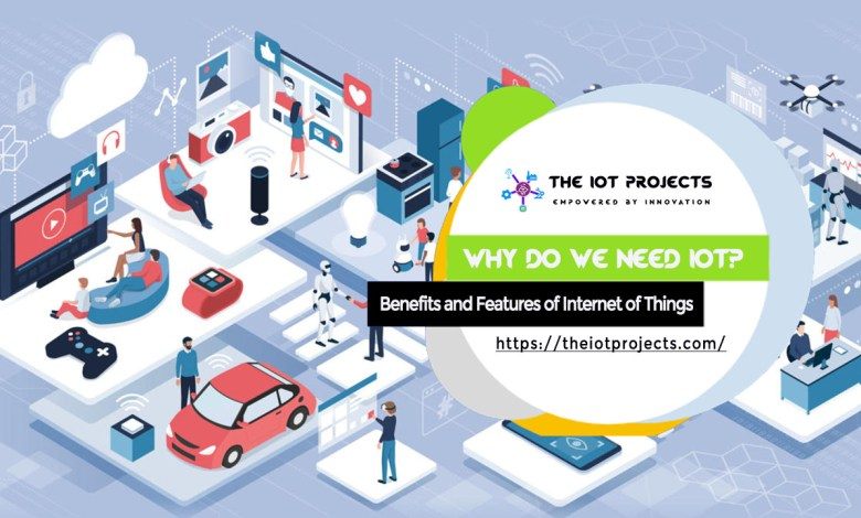 Need of IoT with benefits and features