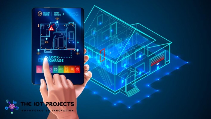 Smart Home lock IoT Project