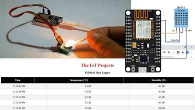 ESP8266 Data Logger to Upload Data on Webserver
