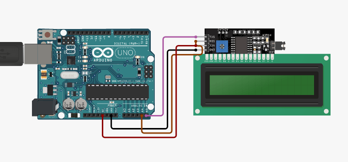 Arduino and I2C circuit connection
