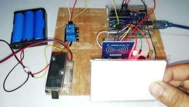 RFID Based Solenoid Door Lock Using Arduino
