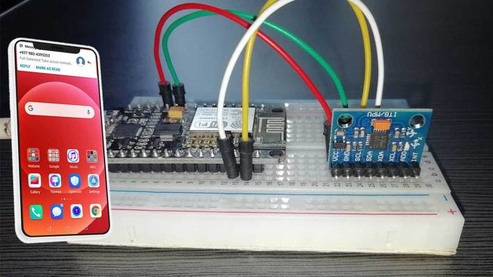 Demo of IoT Fall Detection System