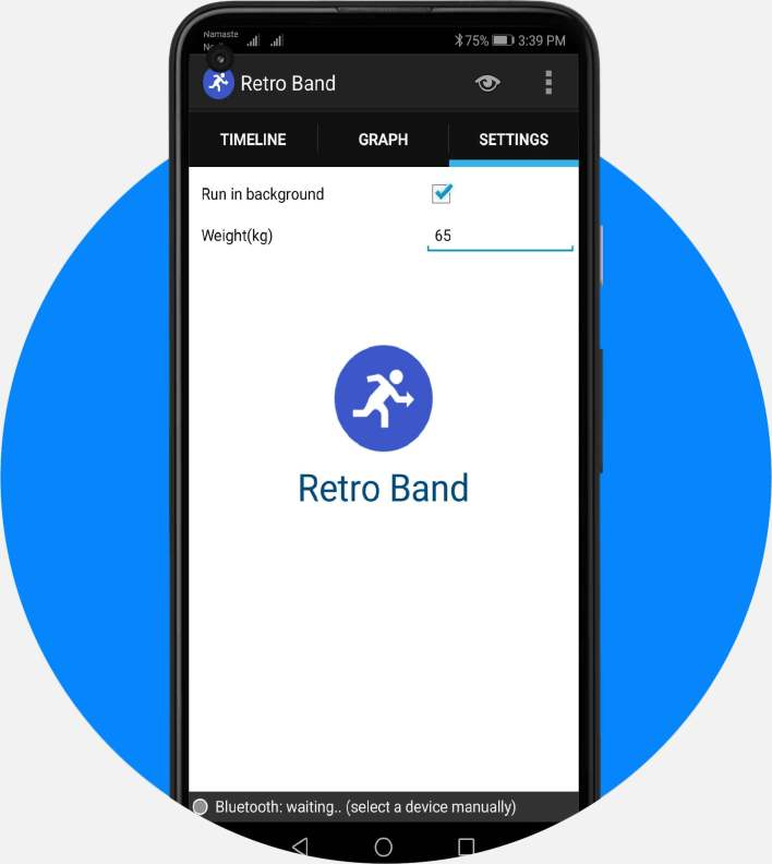 Smart Activity Tracker Arduino and Retroband