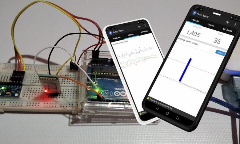 Smart Activity Tracker using MPU6050 and Arduino