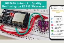 BME680 Indoor Air Quality Monitoring with ESP32