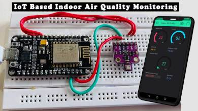 IoT Based Indoor Air Quality Monitoring Using BME680 & ESP8266