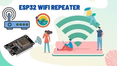Portable ESP32 WiFi Repeater