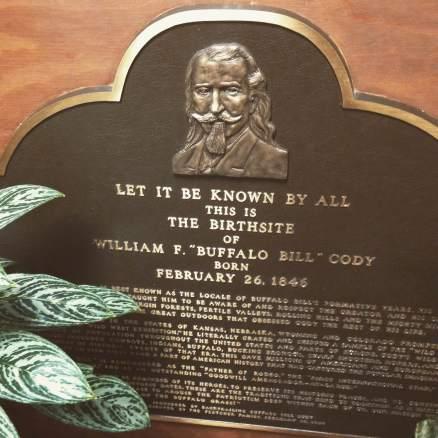 LaClaire, Iowa. The birthplace of Buffalo Bill Cody.