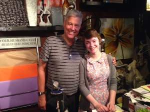 Meet two of Vintage Iron's employees that helped us out. Claire and Dean. Dean has retired and works at Vintage Iron Co.......For fun!