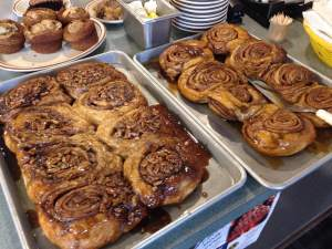 The Pecan Rolls are another reason to love Zakeer's unconditionally.