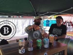 Breweries came from near like our new friends at Kalona Brewing Company in Kalona, IA http://www.kalonabrewing.com/