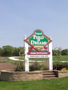 Just outside of Dyersville is the movie site of Field of Dreams