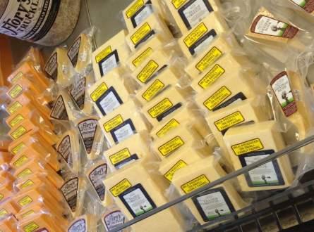 Endless Cheese at Milton Creamery!