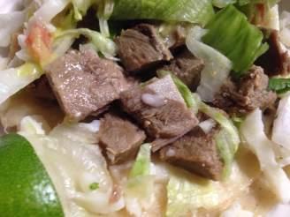 Lengua Taco! (Beef tongue)