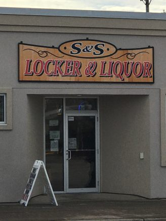 S&S Locker & Liquor in Osage, Iowa