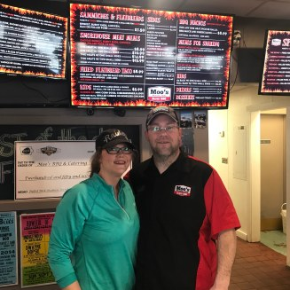Family owned and operated-Moo's BBQ