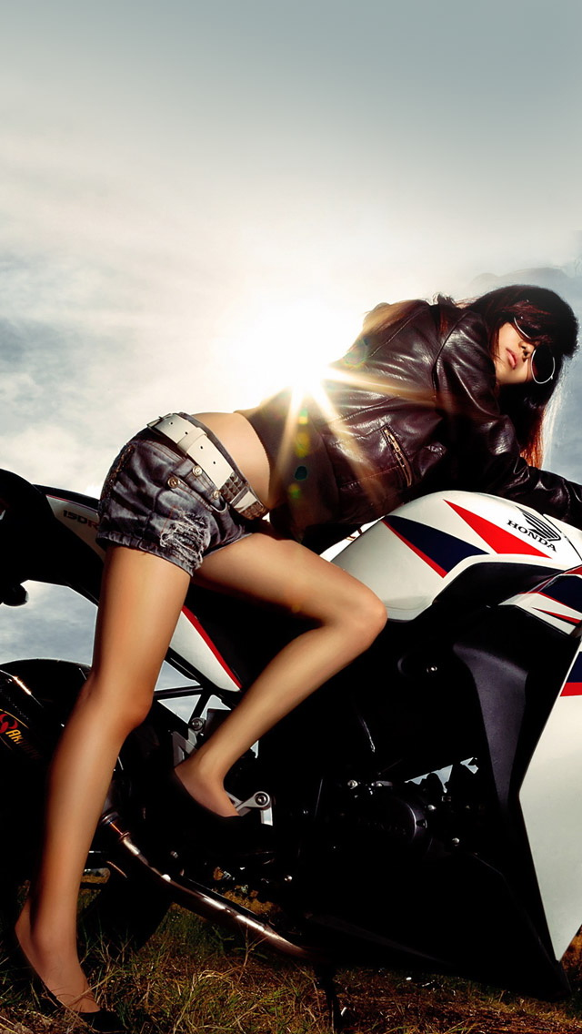 girls more search motorcycle girl iphone wallpaper tags girl