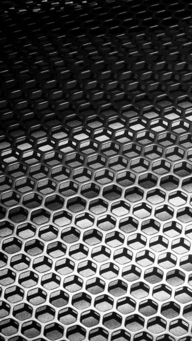 Metal Honeycomb The Iphone Wallpapers