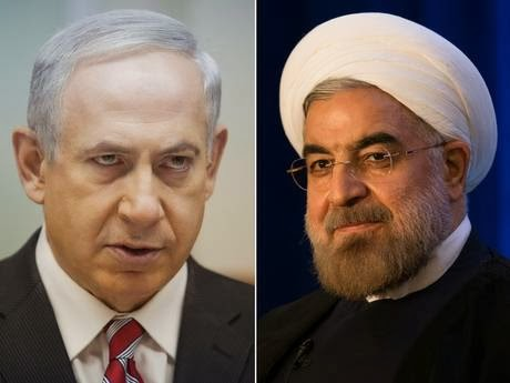 Image result for netanyahu rouhani