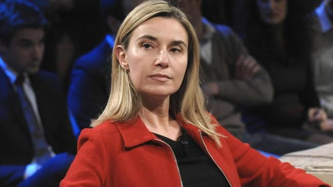 Image result for European Union's foreign policy chief, Federica Mogherini