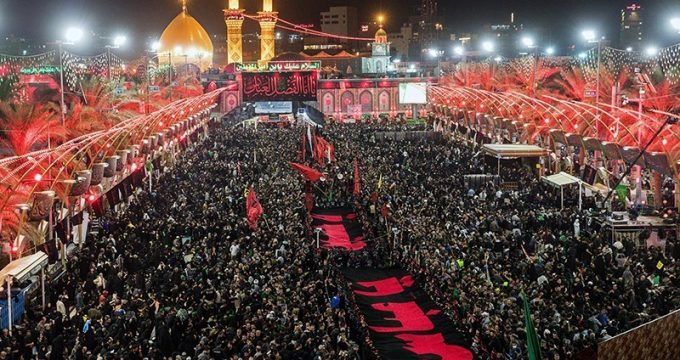 millions of shia pilgrims