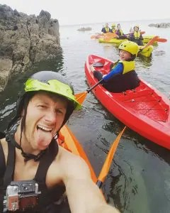 Kayaking with kids
