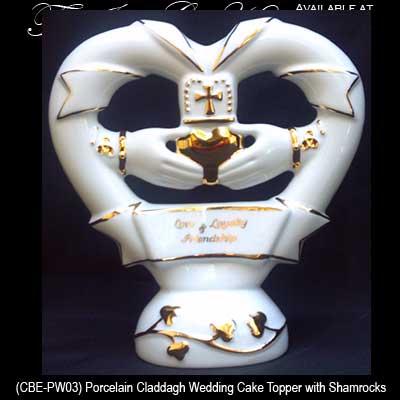 Claddagh Cake Topper Irish Wedding Gifts