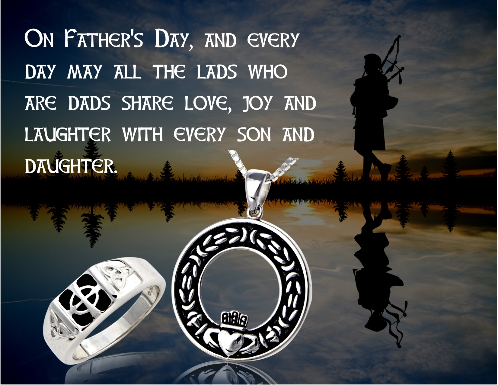 An Irish Fathers Day Blessing  The Irish Jewelry Companys Blog