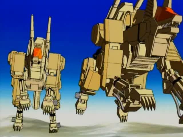 Image result for zoids desert command wolf