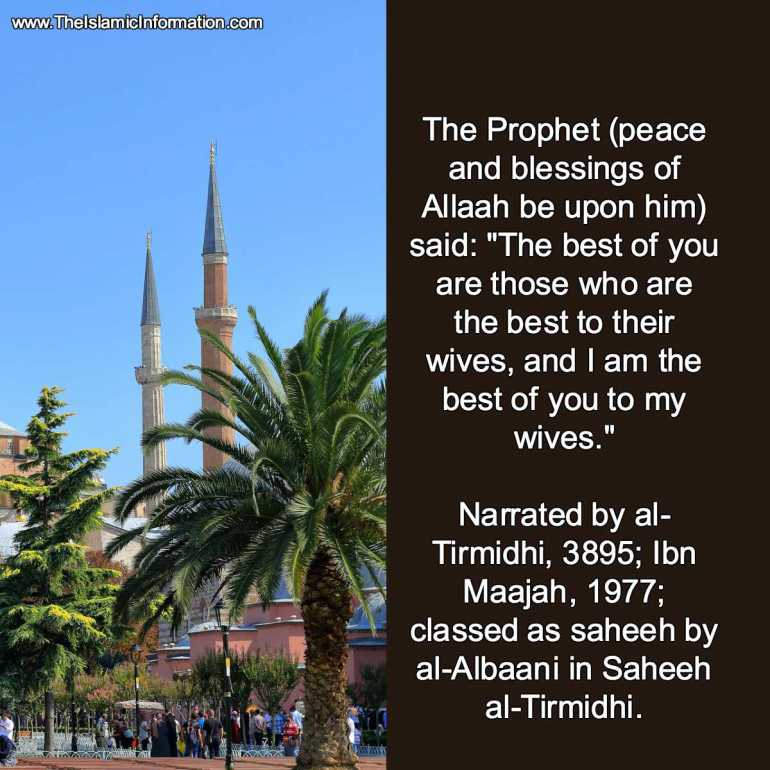 forcing wife hadith