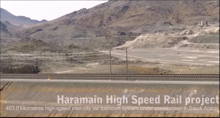 haramain railway project saudi arabia