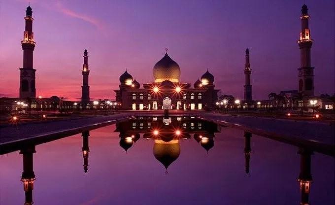 An-Nur Mosque, Pekanbaru, Indonesia