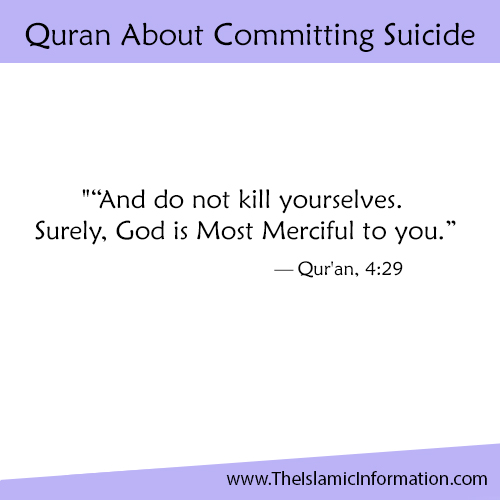 Quran About Committing Suicide