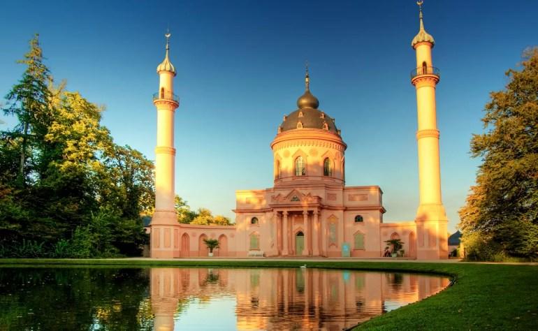 Schwetzinger Mosque, Baden-Württemberg, Germany