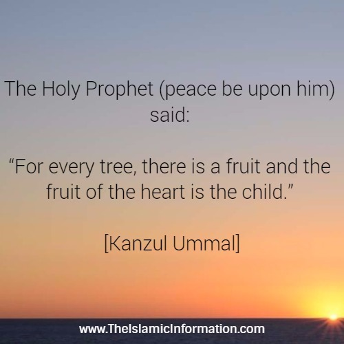 BLESSING OF HAVING CHILDREN hadith
