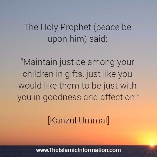 children having hadith