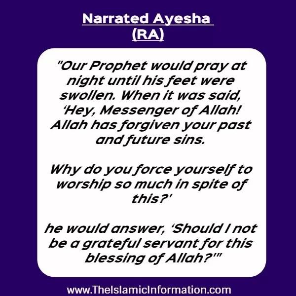 thanksful allah muhammad hadith