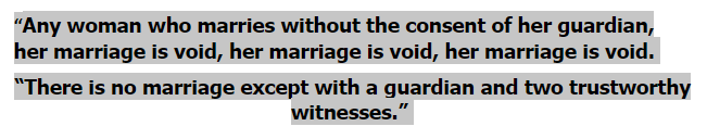 muhammad about marriage