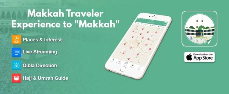 Makkah Traveller Lite app1