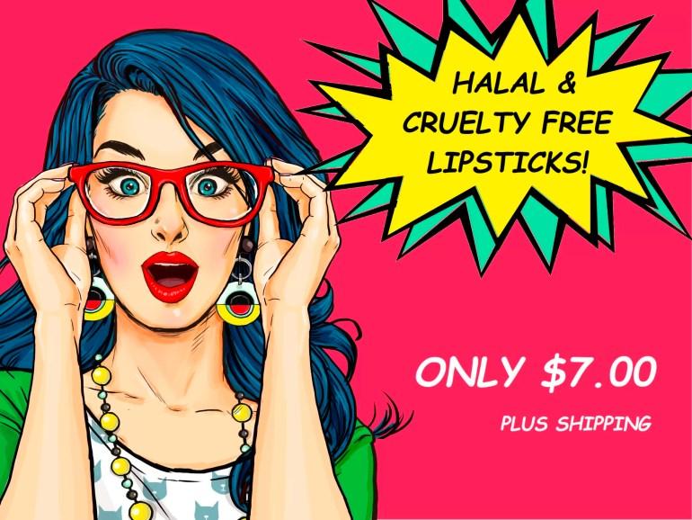 Halal Lipsticks sweetzeek