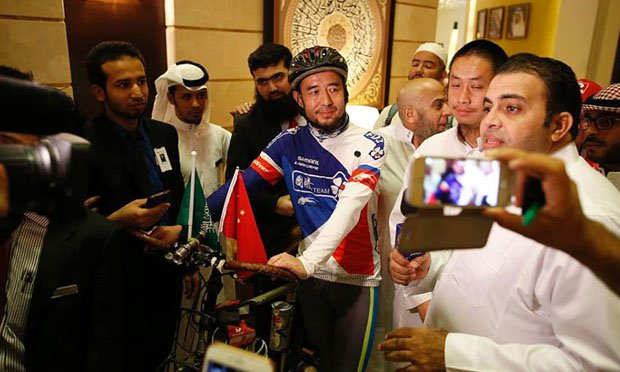 China and Russia On Bike To Perform Hajj